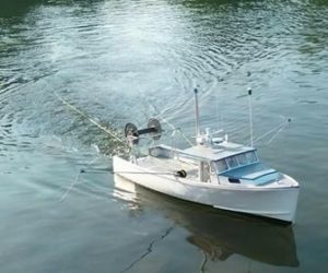 Benner Fills a Niche Making Model Boat Hulls