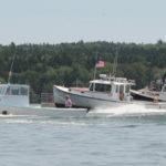 Thunderbolt the Fastest Lobster Boat  Afloat in Merritt Brackett Races