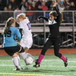 Lady Eagles Score on Waterville in KVAC Championships