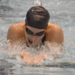 WHS's West Places in Two Events at State B Swim, Breaks School Breaststroke Record