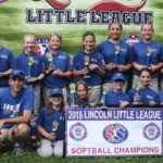 The First Clips Colby & Gale for  Lincoln Little League Softball Crown
