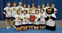 Medomak Valley Successfully Defends KVAC Cheering Title