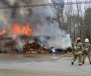 Accidental Fire Destroys Damariscotta House