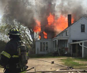 Fire Claims 'Iconic' Sheepscot Farmhouse