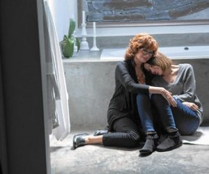 "Susan Sarandon and Rose Byrne in a scene from ""The Meddler,"" playing this week at The Harbor Theatre, Boothbay Harbor."