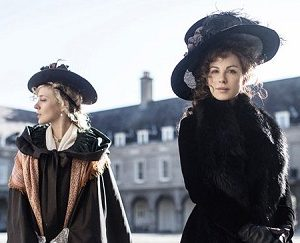 "Kate Beckinsale and Chloë Sevigny in a scene from ""Love & Friendship,"" rated PG, one of several films playing this week at The Harbor Theatre, Boothbay Harbor."