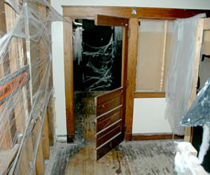 Vandals Strike Haunted House at A.D. Gray