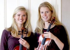 Sophie (left) and Josie Davis (Photo courtesy Josie Davis)