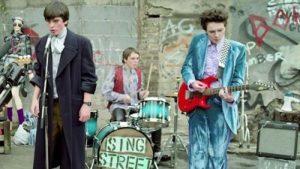 "A scene from ""Sing Street."""