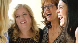 """From left: Sarah Baker, Susan Sarandon, and Rose Byrne in """"The Meddler."""""""