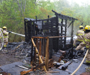 Shack Burns in Round Pond, Fire Classified 'Incendiary'
