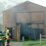 Fire Damages Waldoboro Boathouse