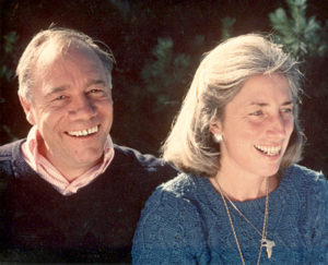"""Richard """"Dick"""" Kennedy with his wife, Nancy. Kennedy was the director of Camp Kieve in Nobleboro from 1959-1990 and oversaw its transition from a summer camp into an educational nonprofit."""