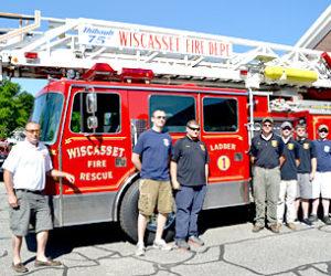 Wiscasset Ladder Truck Back in Service