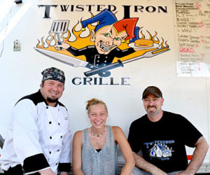Barbecue Stand Opens on Route 1 in Wiscasset