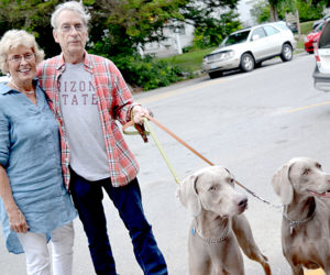 Artist William Wegman Attracts Capacity Crowd