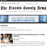Lincoln County News Launches New Website
