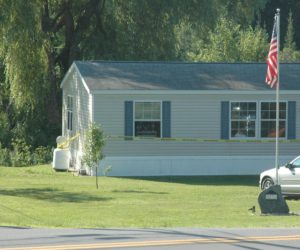 Electrical Fire Damages Waldoboro Mobile Home