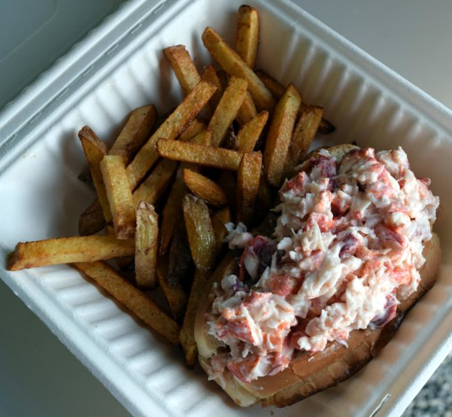 "The ""best lobster roll in five counties"" is among the most popular menu items at Hot Fat. (J.W. Oliver photo)"
