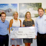 First National Bank Gives to CLC Y Capital Campaign