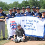Medomak 10&11 Baseball Win District 2 Championships