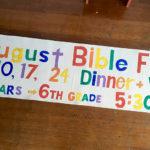 Wednesday Bible Fun