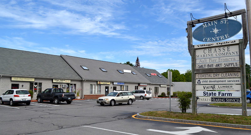 Main St. Centre has been home to Salt Bay Framers since the business opened in 2001. (Maia Zewert photo)
