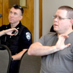 Damariscotta Police Officers Learn Basics of Sign Language