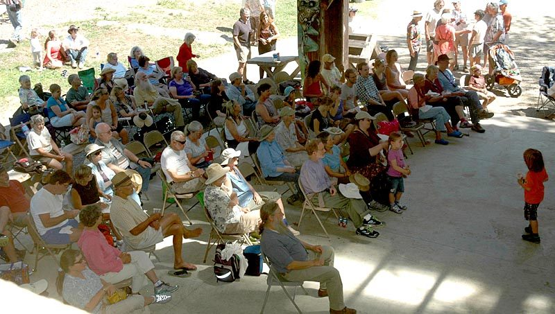 The Live Edge Music Festival drew a crowd to Hidden Valley Nature Center on Sunday, Aug. 21. (Alexander Violo photo)