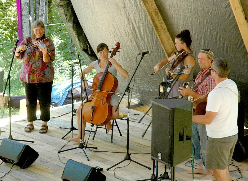 The Gawler Family Band was one of four acts to perform at the fifth annual Live Edge Music Festival. (Alexander Violo photo)