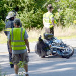 Newcastle Motorcycle Accident Injures Two