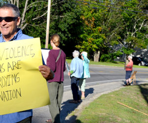 Area Residents Hold Vigils to Protest Racism