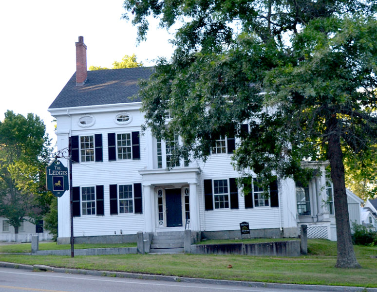 The former Ledges Inn on Main Street in Wiscasset will soon have new life and a new name. The Wiscasset Planning Board approved an application Monday, Aug. 22 for a New York restaurateur to restore the property and open a restaurant and bed-and-breakfast called the Grey Lady. (Charlotte Boynton photo)
