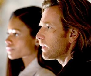 "Naomie Harris and Ewan McGregor in ""Our Kind of Traitor."""