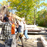 Midcoast Conservancy's Final Timber-Framing Class of 2016