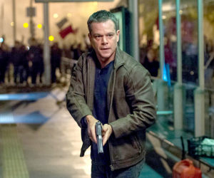 "Matt Damon stars in the new thriller ""Jason Bourne,"" playing this week at The Harbor Theatre, Boothbay Harbor."