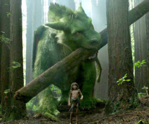 """A scene from """"Pete's Dragon,"""" PG, playing this week at The Harbor Theatre, Boothbay Harbor."""