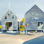 Kilburn and Ineson at Pemaquid Art Gallery