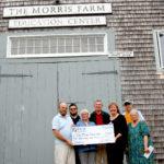 Morris Farm Receives Charitable Donation