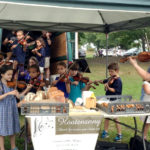 Violin Students Fiddled at Farmers' Market