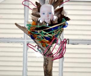 Review: Damariscotta Artist's Work Tackles Serious Environmental Issues