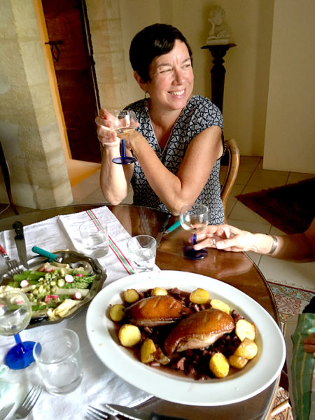 NPR resident chef and cookbook author Kathy Gunst will co-lead a food-writing workshop in Damariscotta on Saturday, Oct. 22. (Photo courtesy Kathy Gunst)