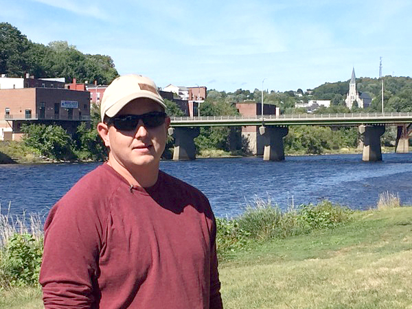 Sean Scanlon, of Dresden Mills, pulled a drowning 2-year-old boy from the Kennebec River on Friday, Sept. 16. (Photo courtesy WGME)
