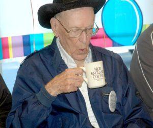 Waldoboro Man Celebrates 100th Birthday at Moody's