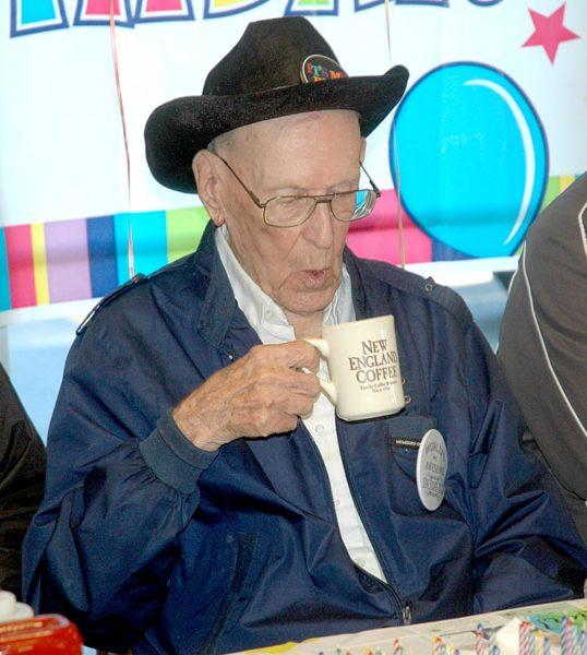 Waldoboro Man Celebrates 100th Birthday At Moodys