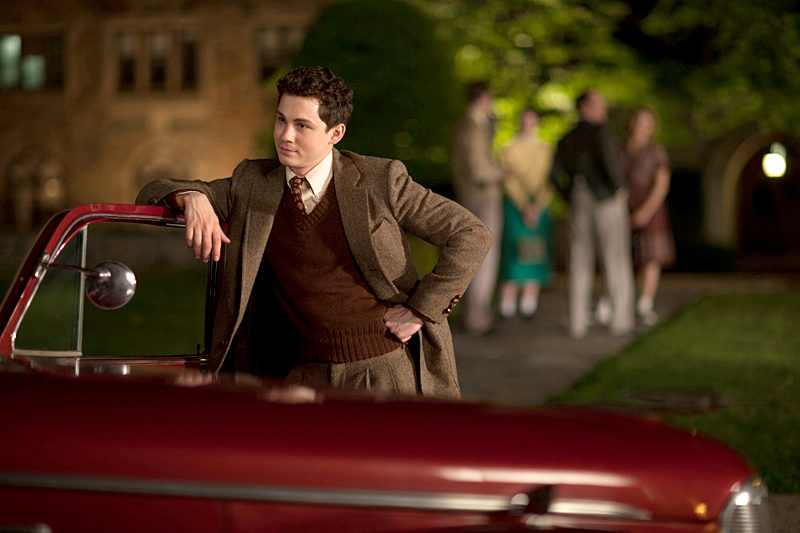 "Logan Lerman in ""Indignation."""