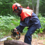 Chainsaw Safety Class at HVNC