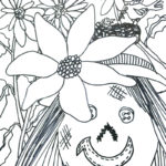 Color a scarecrow for Scarecrowfest
