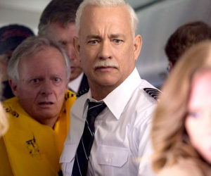 """Tom Hanks stars in """"Sully"""", PG-13, held over and playing through Thursday, Oct. 6 at The Harbor Theatre, Boothbay Harbor."""