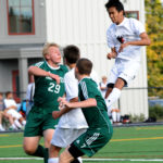 Lincoln boys soccer hold off Mustangs